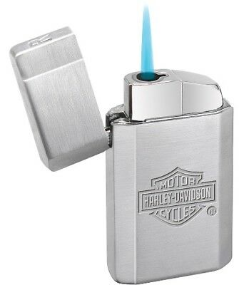 Hard to Find silver Harley Davidson Zippo Torch Lighter