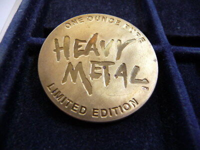 1 Oz Heavy Metal & Plastic Sucks Token E-8-18