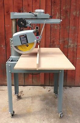 Delta 12 inch Radial Arm Saw, Delta 33-891, 1 1/2 HP 220 volt,   Very Nice!