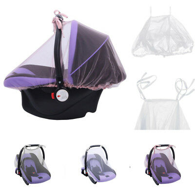 Pram Mosquito Net Buggy Stroller Pushchair Bug Insect Car Seat Safe Mesh