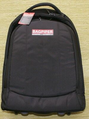 Bagpiper Trolley Backpack Case for Highland Bagpipes Rucksack Handle Wheels