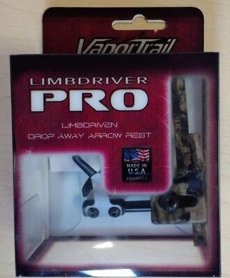 VaporTrail Limb Driver Pro Drop-Away Arrow Rest Mossy Oak Camo RH #00371