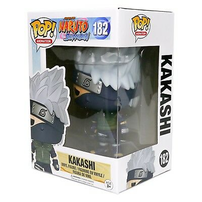 Funko Pop Animation Naruto Shippuden - Kakashi Vinyl Figure #182 - Brand New