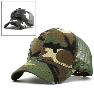 dec3b65f8ea Baseball Cap Mesh Trucker hat Tactical Hunting Military hunting Army Camo  Hat