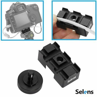 Selens Tether Lock Camera Cable Cord Wire Adapter Retention Protector Holder