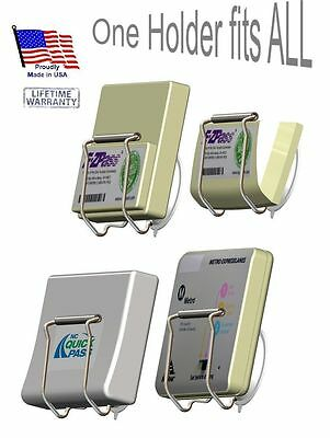 Toll Pass Holder for EZ Pass/I-Pass/FasTrak/QuickPass/I zoom/PalPass
