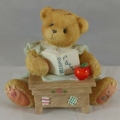 NEW Cherished Teddies Linda ABC and 1-2-3 You're A Friend to Me! Teacher 156426