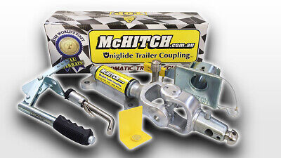 McHitch 3.5T Automatic Coupling Caravan Camper Trailer Easy Fitment AUEF35K