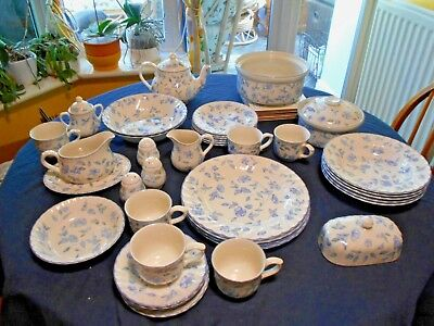 BHS Bristol Blue-  place mats, butter dish lid egg cups etc (not joblot )