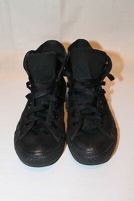 Converse All Star Black Shoes Mens Us 6 Womens Great Condition