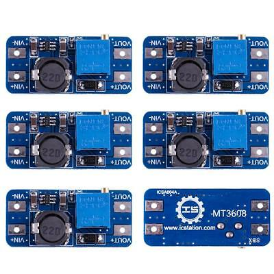 5PCS DC-DC Step Up Converter Booster Power Supply Module Boost Step-up Board SY