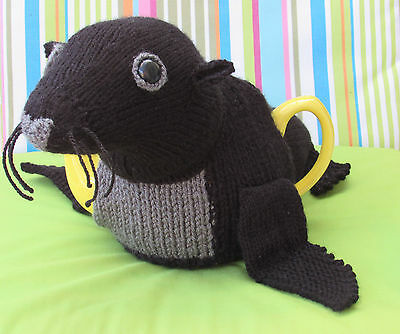 Sea Lion Tea Cosy Knitting Pattern To Knit Your Own 385