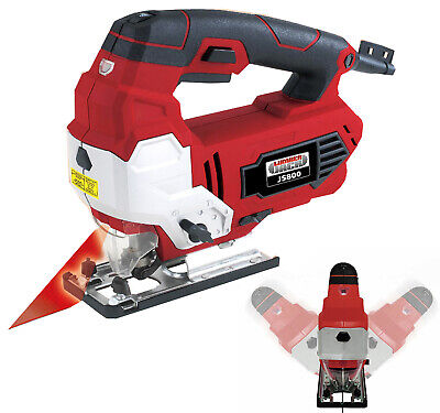 Variable Speed Pendulum Jigsaw 800W With Laser