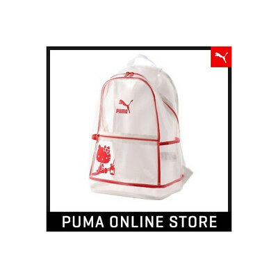 9109188b2a2c HELLO KITTY × PUMA Gym Back Pack Ruck Sack 50th Anniv SANRIO JAPAN F ...