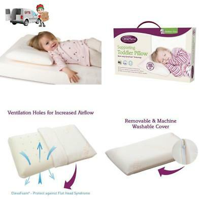 Baby Pillow Comfort Perfect Support Keep Head Toddlers Clevamama ClevaFoam 12M