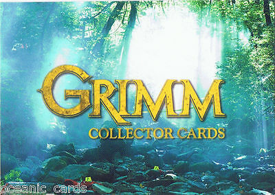 Grimm Season 1 Trading Cards Factory Sealed Case - 12 Sealed Boxes & Bonus Cards