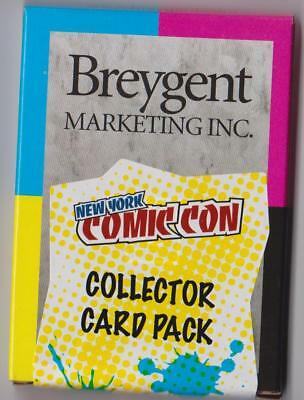 Breygent Marketing New York Comic Con 2012 Factory Sealed Mystery Pack