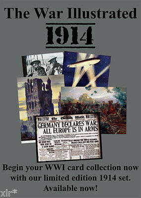 1914 War Illustrated Trading Cards Cult Stuff Limited Edition Sealed Box