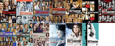New & Sealed! TV Complete Grey's Anatomy Seasons 1 - 13 DVD