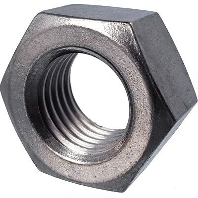 A2/A4 HEXAGON NUTS M2-M30 Stainless/Marine Steel Metric Small - Large Hex Head