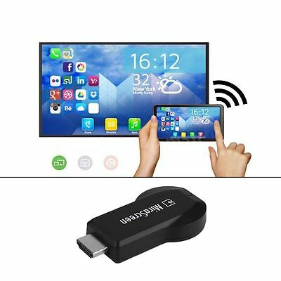 1080P MiraScreen WiFi Display Receiver AV TV Dongle DLNA Airplay Miracast HDM KG