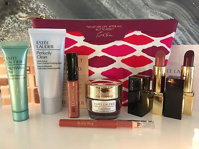 ESTEE LAUDER Kisses Gift Set - Daywear/Nightwear Plus Mask/Lipstick/Lip Liner