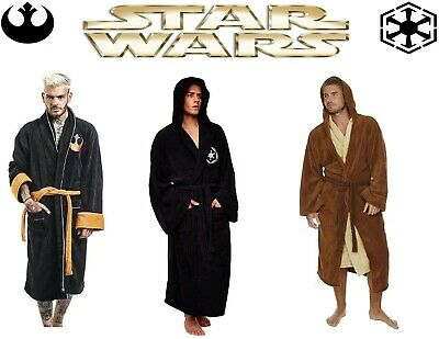Star Wars Jedi Empire Fleece Mens Robe Dressing Gown Father s Day Bathrobe c02090462
