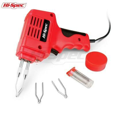 Soldering Gun Set 100W Heavy Duty Soldering Iron Kit For DIY Welding Metalwork