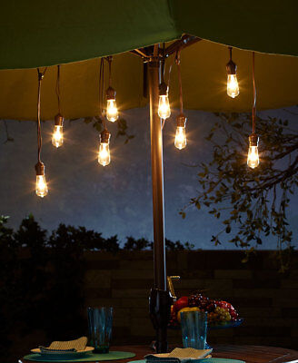 The Lakeside Collection Adjustable Edison Light String -
