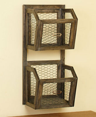 The Lakeside Collection Hanging File Baskets