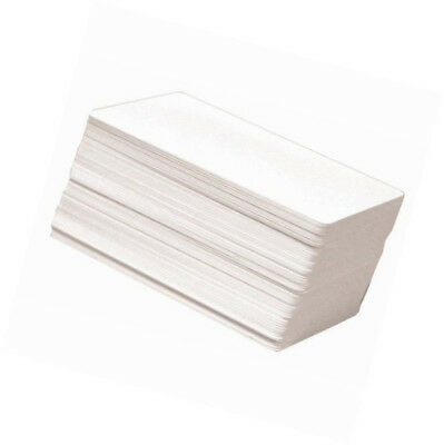 100 x CR80 30Mil White Blank PVC Plastic Cards for Photo ID card thermal printer