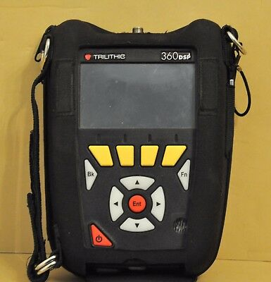 Trilithic 360DSP Home Cert CATV Doc 3.0 Meter 360 DSP NO Charger NO CASE