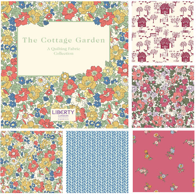 Cottage Garden LIBERTY of London Fabric 100% Cotton Craft & Quilting Fabric