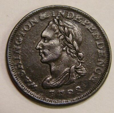 1783 Washington & Independence Token - Electro-Type - Contemporary Imitation