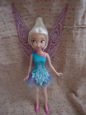 """Disney Fairies Sparkle Party Periwinkle 9"""" Doll with Wings"""