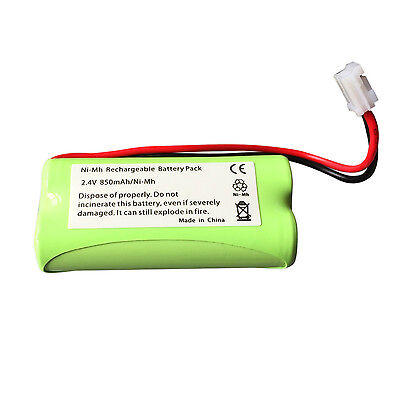 TOMY TD300 TD350 BABY MONITOR RECHARGEABLE BATTERY 850mAh LP175N 2.4v AAA