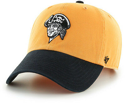 detailed look 8763b f843c Pittsburgh Pirates 47 Brand Clean Up Hat Adjustable Cap 2 Tone Legacy