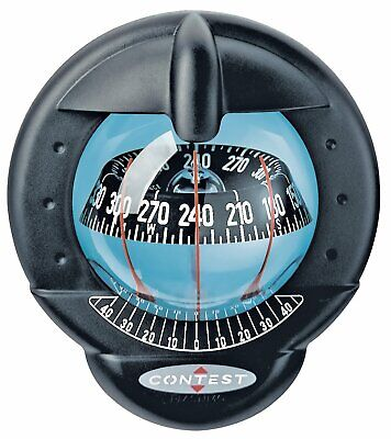 Contest 101 Sailboat Compass - Black With Black Card