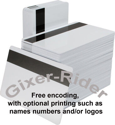 Epos and Access Swipe Cards (x 10) ENCODED to your spec'  UK seller  Save £100's