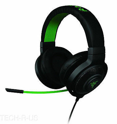 Razer RZ04-01380100-R3U1 Kraken Pro Analog Gaming Headset - Black