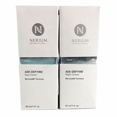 Nerium Age Defying Day And Night Cream Combo Complete Kit New Fast Shipping
