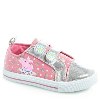 NEW NWT Girls Peppa Pig Baby and Toddler Shoes Size 5 or 6