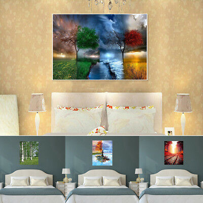 Landscape DIY Paint By Number Kit Beautiful Painting On Canvas Home Decor Eyeful