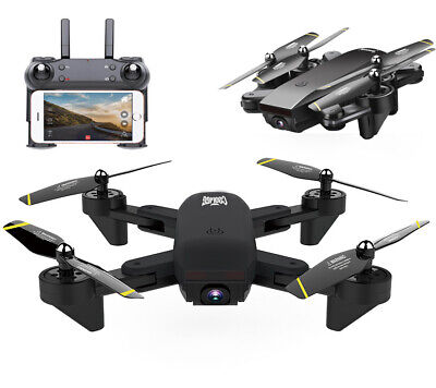 Cooligg S169 2MP 720P Camera WIFI FPV Foldable Drone 2.4G 6-Axis RC Quadcopter