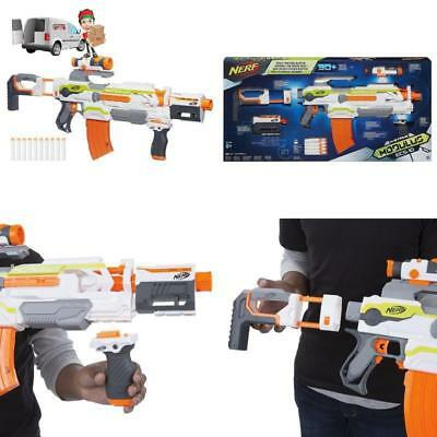 NERF N-Strike Modulus Rifle Blaster Gun Kit Bullets Sniper Child Toys Dart Game