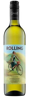 Rolling Chardonnay 2015 (6 x 750mL), Central Ranges, NSW.