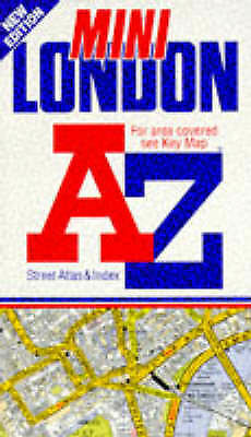 A. to Z. Mini London Street Atlas by Geographers' A-Z Map Company (Paperback, 19