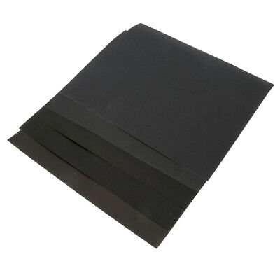 """Sanding Sheets Wet/Dry Silicon Carbide Waterproof Sandpaper Grits 11""""x9"""" AFE3"""