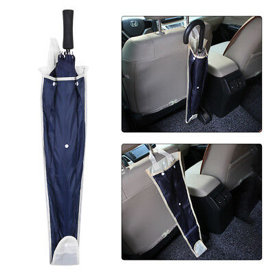 Car Seat Back Umbrella Storage Bag Foldable Organizer Holder Hanger Cover Pouch