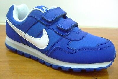 huge discount 8f7b3 fd47d ... Nike Md Runner Boys Strap Up Shoes Trainers Uk Size 11 - 2.5 652965 424  2